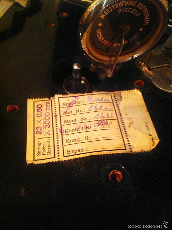 Gramófonos y gramolas: Gramola Gramofóno Made In Germany Orator – Restaurar Montar - Foto 4 - 57019072