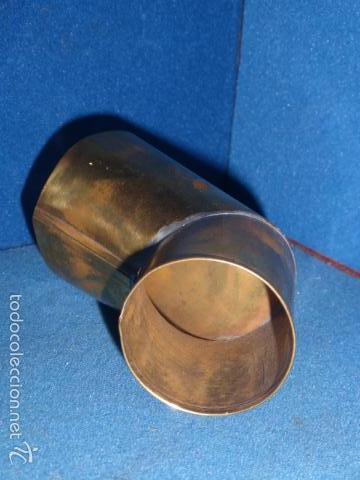 Gramófonos y gramolas: CODO DE LATON PULIDO PARA GRAMOLA O GRAMOFONO - Foto 2 - 230683965