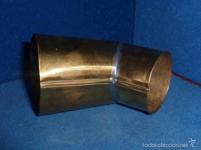 Gramófonos y gramolas: CODO DE LATON PULIDO PARA GRAMOLA O GRAMOFONO - Foto 3 - 230683965