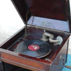 Gramófonos y gramolas: GRAMOFONO ANTIGUO THE MINSTREL. Lote 57217099