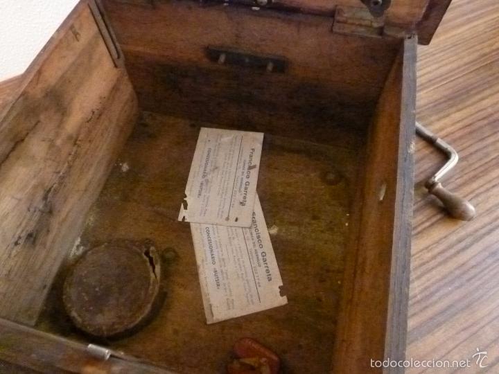 Gramófonos y gramolas: gramofono con trompa - Foto 4 - 57225326