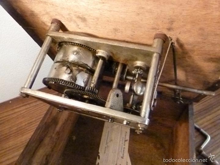 Gramófonos y gramolas: gramofono con trompa - Foto 10 - 57225326