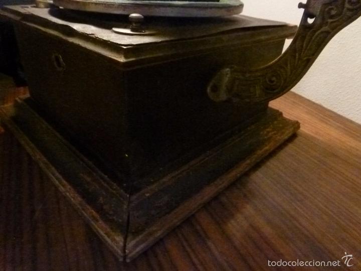 Gramófonos y gramolas: gramofono con trompa - Foto 11 - 57225326