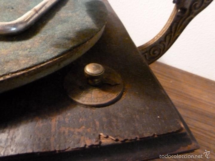 Gramófonos y gramolas: gramofono con trompa - Foto 13 - 57225326