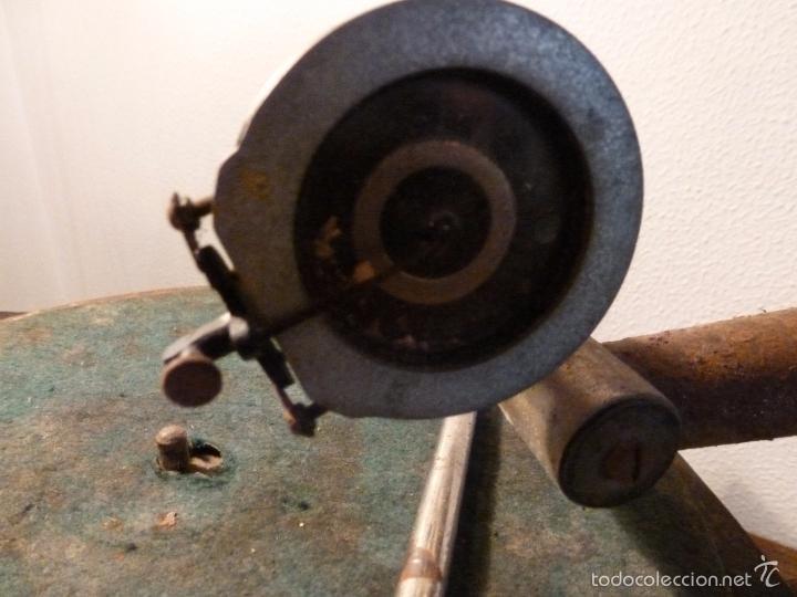 Gramófonos y gramolas: gramofono con trompa - Foto 15 - 57225326