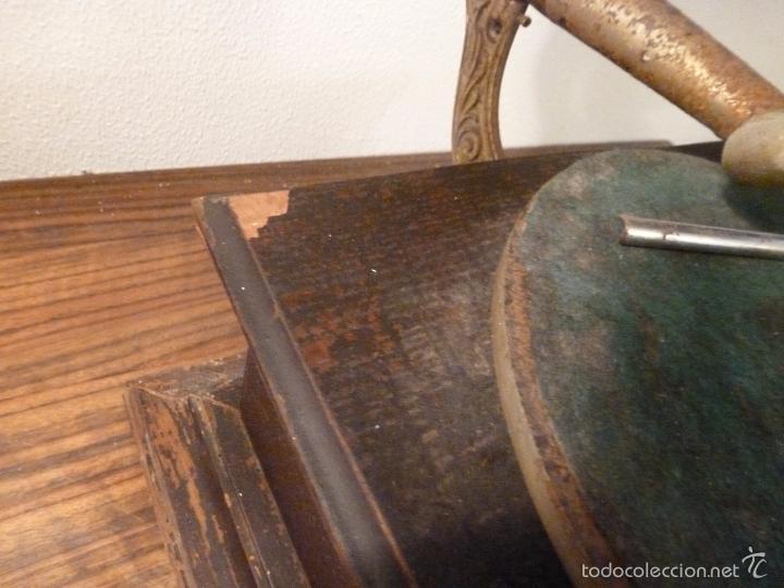 Gramófonos y gramolas: gramofono con trompa - Foto 21 - 57225326