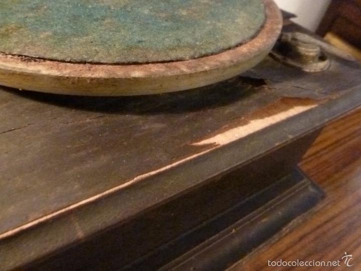 Gramófonos y gramolas: gramofono con trompa - Foto 23 - 57225326