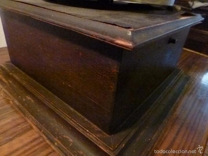 Gramófonos y gramolas: gramofono con trompa - Foto 24 - 57225326