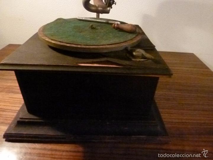 Gramófonos y gramolas: gramofono con trompa - Foto 25 - 57225326