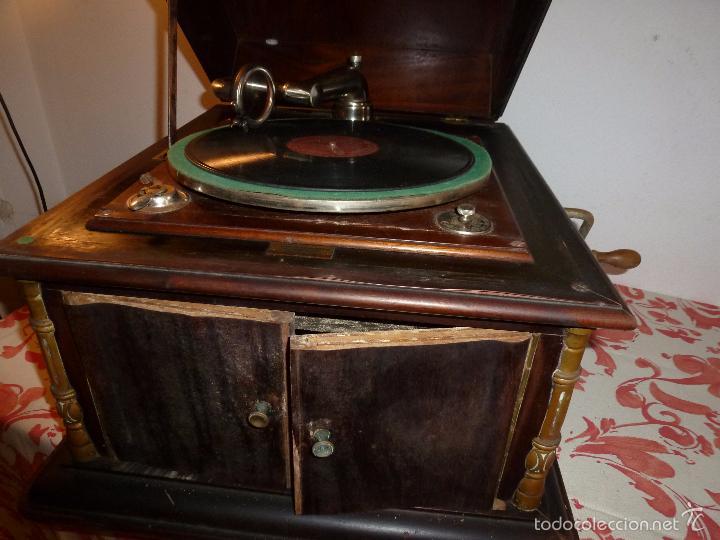 Gramófonos y gramolas: gramofono - Foto 7 - 57300802