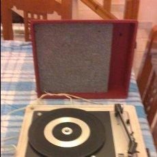Gramófonos y gramolas: TOCADISCOS MUY BIEN CONSERVADO. Lote 57320539