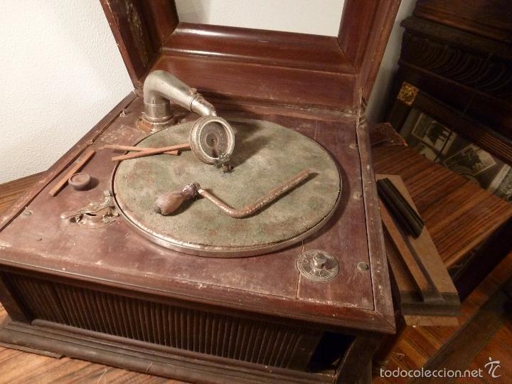 GRAMOFONO (Radios, Gramófonos, Grabadoras y Otros - Gramófonos y Gramolas)