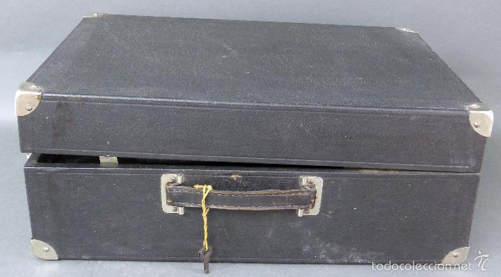 Gramófonos y gramolas: Icáfono gramófono Caba Ureña Madrid años 20 con maleta Estado de marcha caja agujas - Foto 4 - 57603617