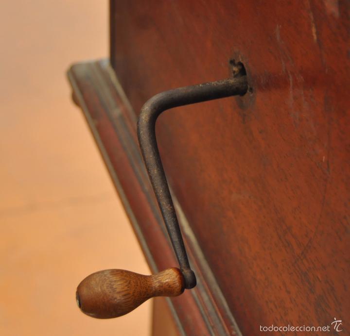 Gramófonos y gramolas: ANTIGUA GRAMOLA DE SOBREMESA DE LA VOZ DE SU AMO - Foto 9 - 57663439