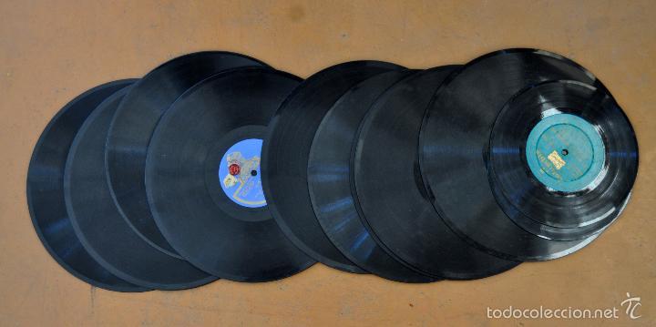 Gramófonos y gramolas: ANTIGUA GRAMOLA DE SOBREMESA DE LA VOZ DE SU AMO - Foto 15 - 57663439