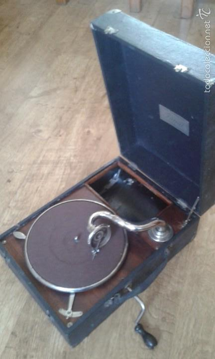 Gramófonos y gramolas: Gramola Gramófono portatil - Foto 3 - 58082125