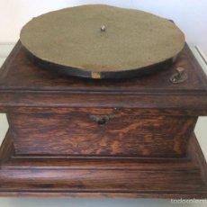 Gramófonos y gramolas: GRAMOLA GRAMÓFONO LA VOZ DE SU AMO. Lote 58697436