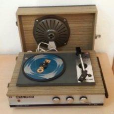 Gramófonos y gramolas: LOTE DOS TOCADISCOS ANTIGUOS.. Lote 60704659