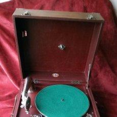 Gramófonos y gramolas: GRAMOFONO MAESTROPHONE, EXCELENTE FUNCIONANDO CON GRAN SONIDO. Lote 61396939
