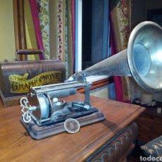 Gramófonos y gramolas: THE GRAPHOPHONE COLUMBIA FONOGRAFO TOTALMENTE ORIGINAL / PHONOGRAPH. Lote 63815194