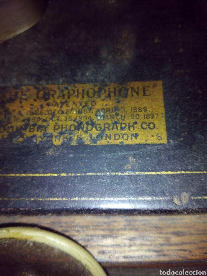 Gramófonos y gramolas: THE GRAPHOPHONE COLUMBIA FONOGRAFO TOTALMENTE ORIGINAL / PHONOGRAPH - Foto 2 - 63815194
