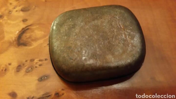 Gramófonos y gramolas: Muy antigua Caja de lata - Cajita de Agujas de Gramófono. Marca ICAFONO (Indalecio Carmona). - Foto 2 - 64513450