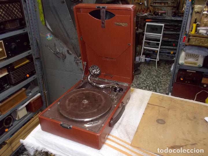 GRAMOLA THORENS FUNCIONANDO (Radios, Gramófonos, Grabadoras y Otros - Gramófonos y Gramolas)