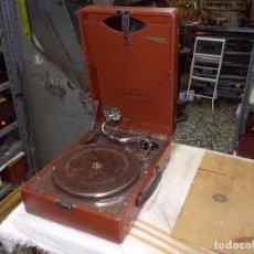 Gramófonos y gramolas: GRAMOLA THORENS FUNCIONANDO. Lote 172684208