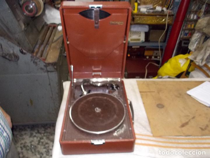 Gramófonos y gramolas: Gramola Thorens funcionando - Foto 2 - 172684208