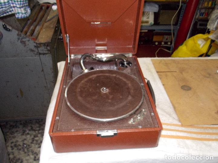 Gramófonos y gramolas: Gramola Thorens funcionando - Foto 3 - 172684208