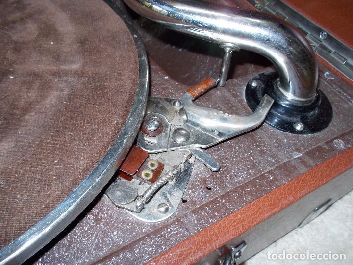 Gramófonos y gramolas: Gramola Thorens funcionando - Foto 6 - 172684208