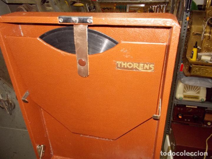 Gramófonos y gramolas: Gramola Thorens funcionando - Foto 7 - 172684208