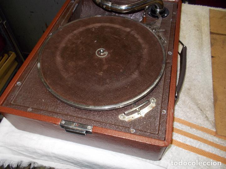 Gramófonos y gramolas: Gramola Thorens funcionando - Foto 10 - 172684208