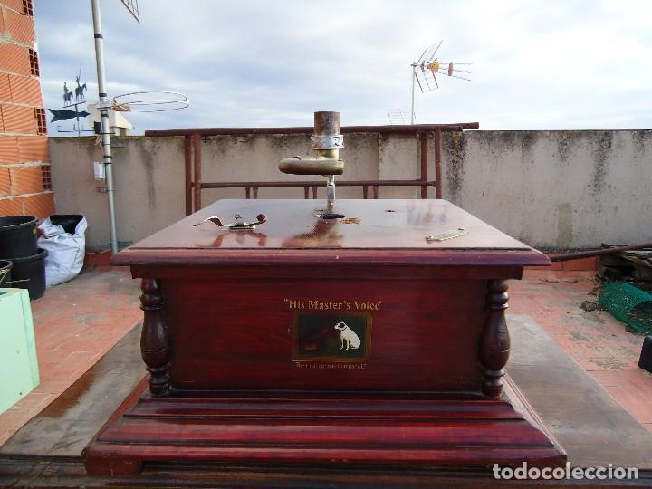 CAJA DE GRAMOLA (Radios, Gramófonos, Grabadoras y Otros - Gramófonos y Gramolas)