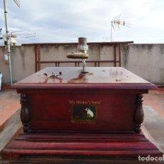 Gramófonos y gramolas: CAJA DE GRAMOLA. Lote 66270930