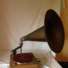 Gramófonos y gramolas: PIEZA DE COLECCIONISTA. GRAMOLA MARCA IDEAL.. Lote 66853438