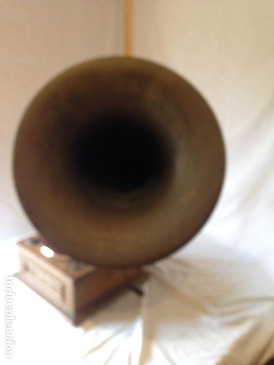 Gramófonos y gramolas: PIEZA DE COLECCIONISTA. GRAMOLA MARCA IDEAL. - Foto 3 - 66853438