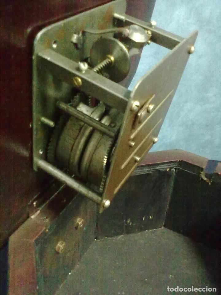 Gramófonos y gramolas: GRAMOFONO OCTOGONAL PARA ARREGLAR - Foto 9 - 69586001