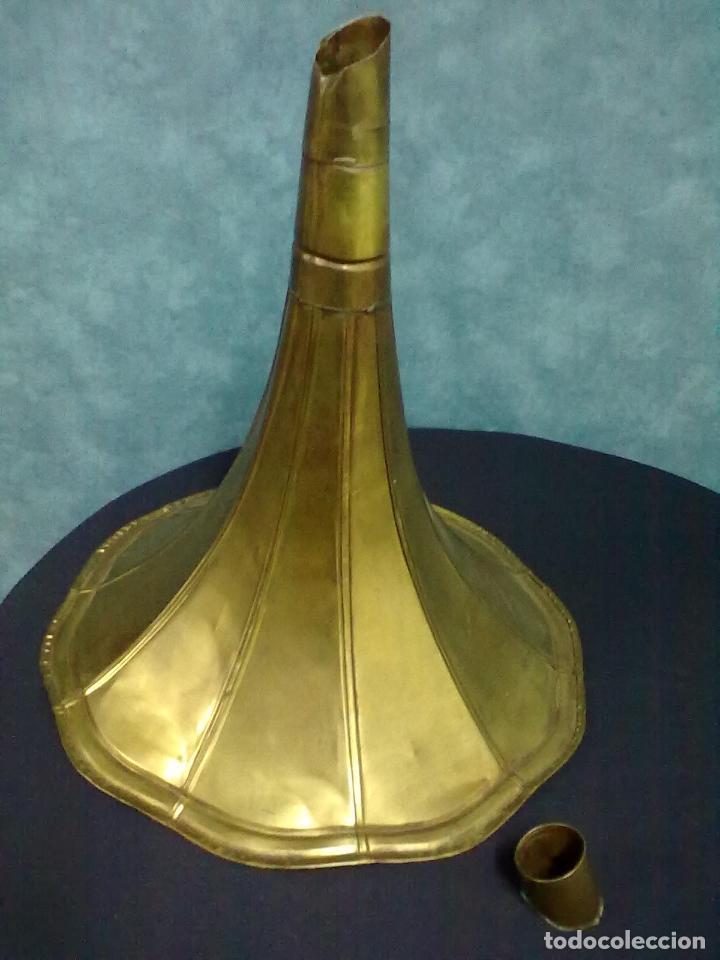 Gramófonos y gramolas: GRAMOFONO OCTOGONAL PARA ARREGLAR - Foto 11 - 69586001