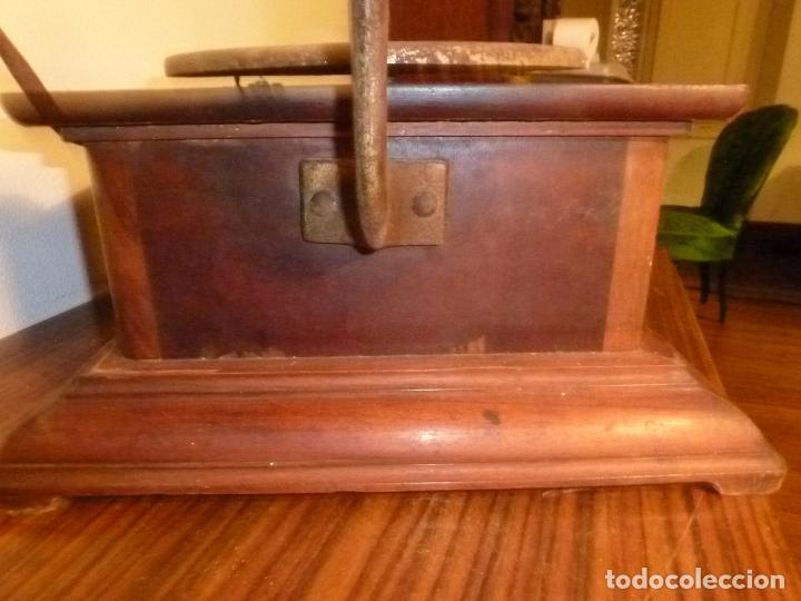 Gramófonos y gramolas: gramofono con trompa - Foto 3 - 70063485