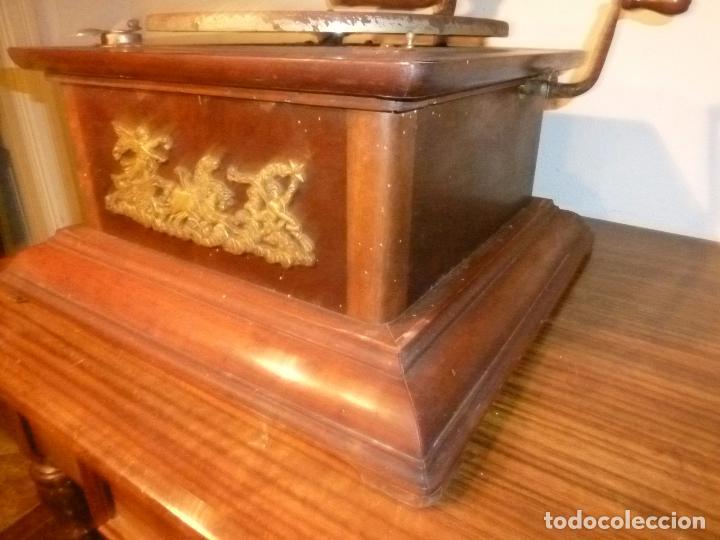 Gramófonos y gramolas: gramofono con trompa - Foto 4 - 70063485