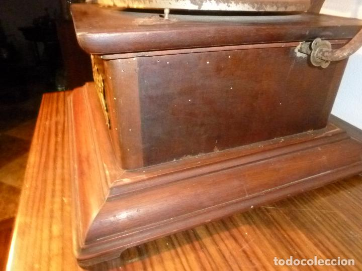 Gramófonos y gramolas: gramofono con trompa - Foto 5 - 70063485