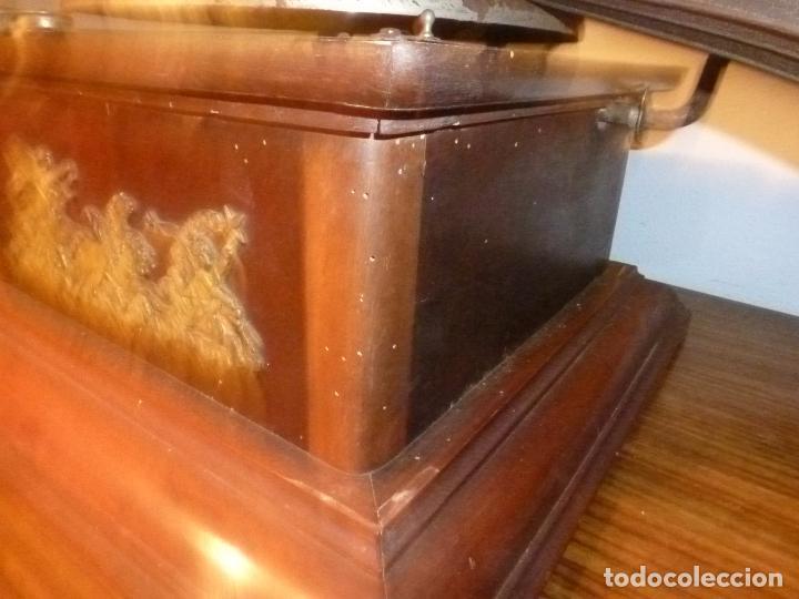 Gramófonos y gramolas: gramofono con trompa - Foto 8 - 70063485