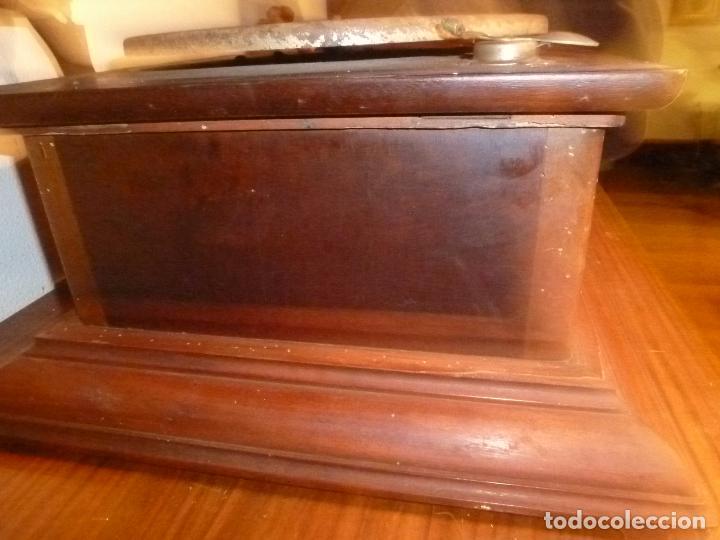 Gramófonos y gramolas: gramofono con trompa - Foto 17 - 70063485