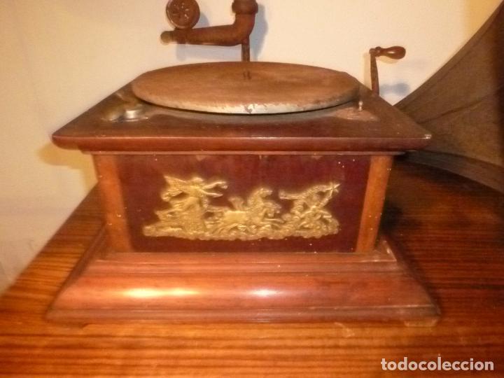 Gramófonos y gramolas: gramofono con trompa - Foto 23 - 70063485