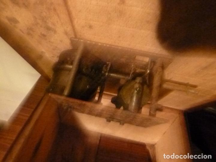Gramófonos y gramolas: caja de gramofono con trompa - Foto 19 - 70064349
