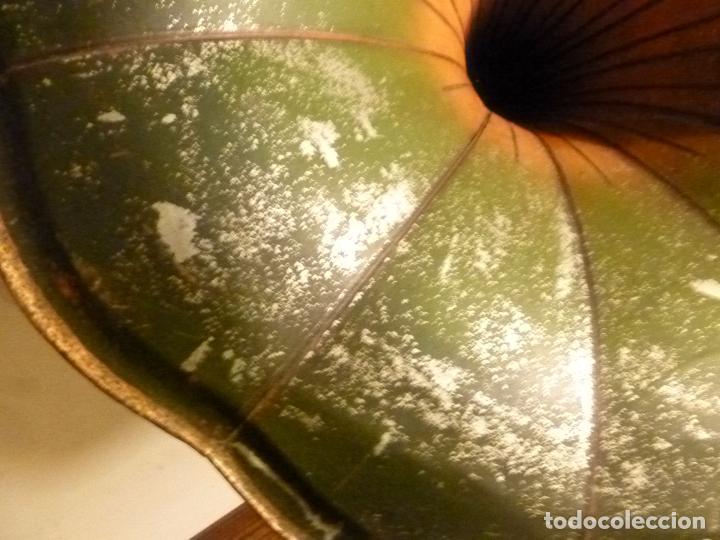 Gramófonos y gramolas: caja de gramofono con trompa - Foto 9 - 70064569