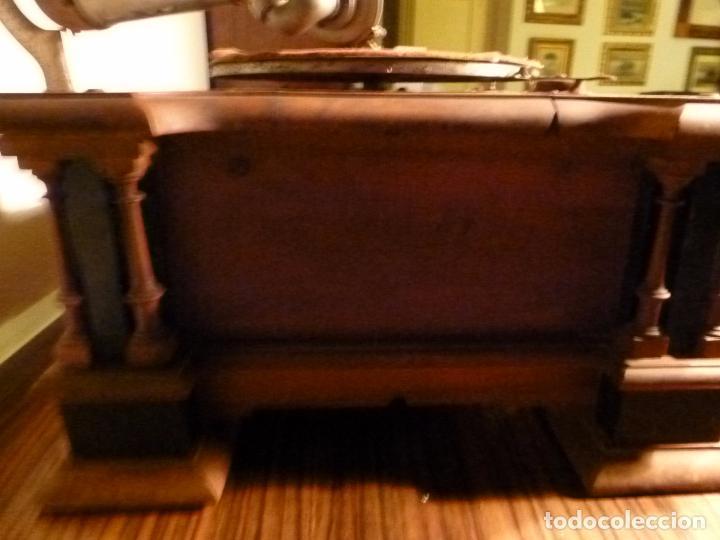 Gramófonos y gramolas: caja de gramofono con trompa - Foto 12 - 70064569