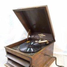 Gramófonos y gramolas: GRAMÓFONO COLUMBIA INGLÉS, AÑOS 30.. Lote 71605311