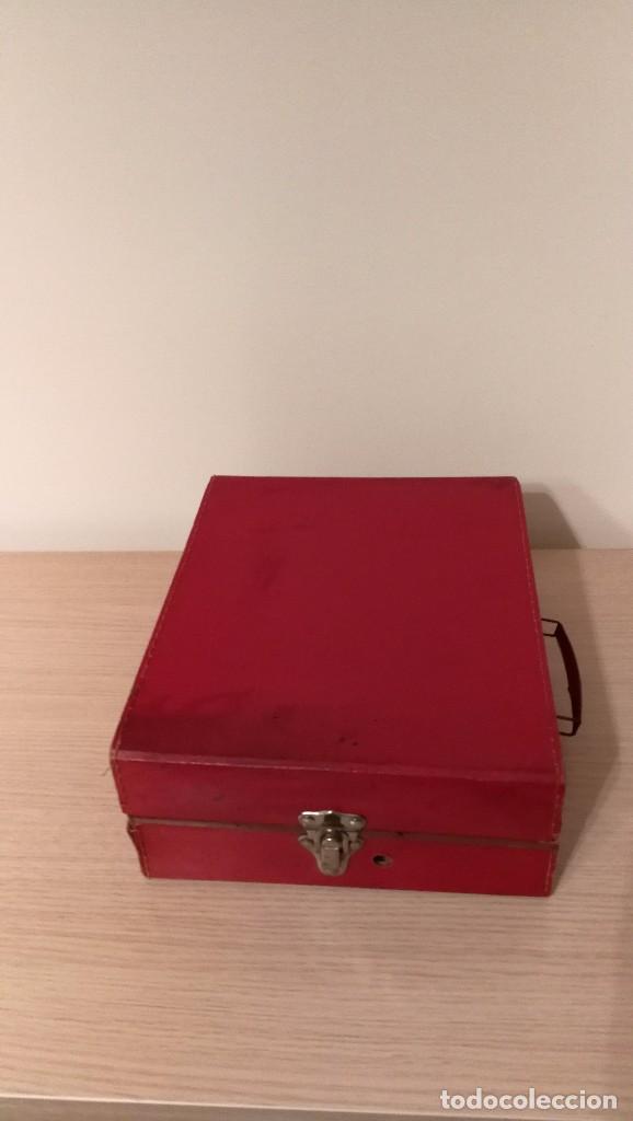 Gramófonos y gramolas: GRAMOFONO INFANTIL ORPHEE A CUERDA, EXCELENTE CON DOS DISCOS DE 16 CM - Foto 6 - 73453211